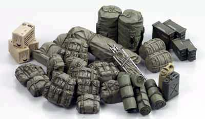 US Military Equipment Set
