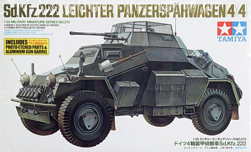 Sdkfz 222 with etch set