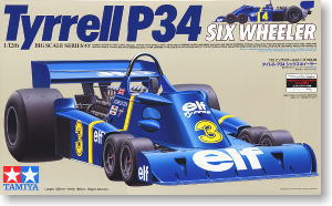 Tyrrell P34 6-Wheeler with Etch parts