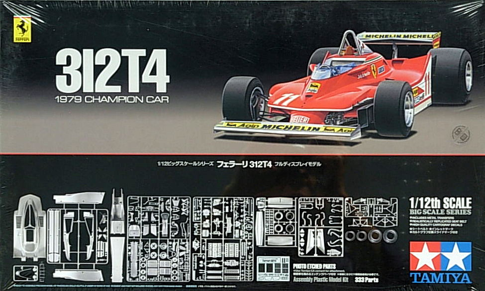 Ferrari 312 T4 - with etched parts
